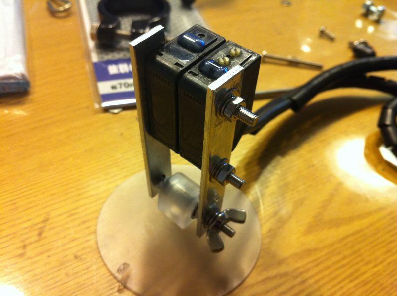 光電管タイム測定器の自作_a0038328_21332686.jpg