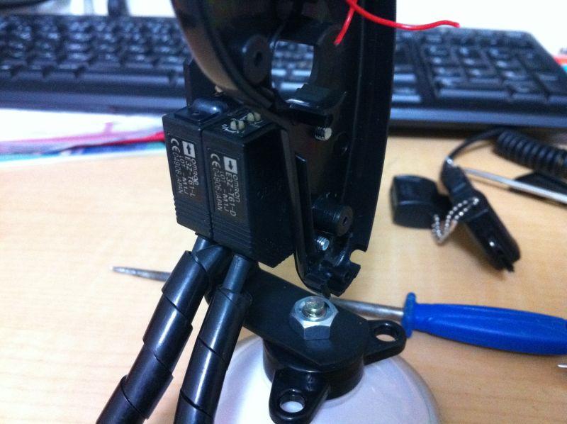 光電管タイム測定器の自作_a0038328_2139163.jpg