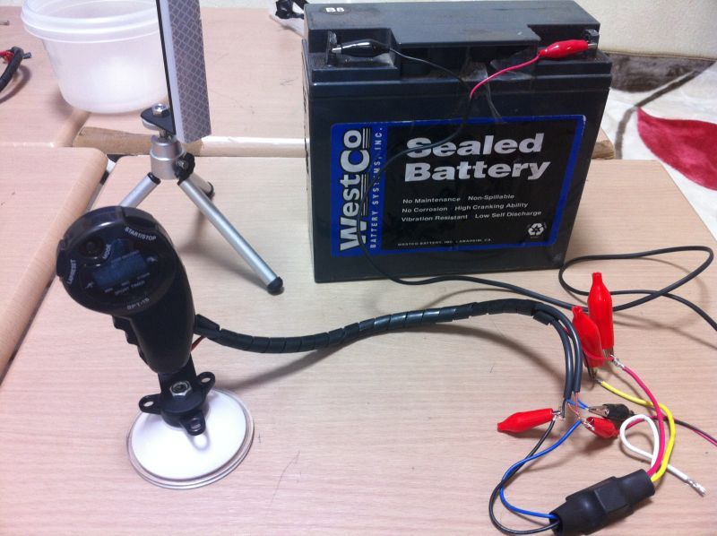 光電管タイム測定器の自作_a0038328_21393498.jpg