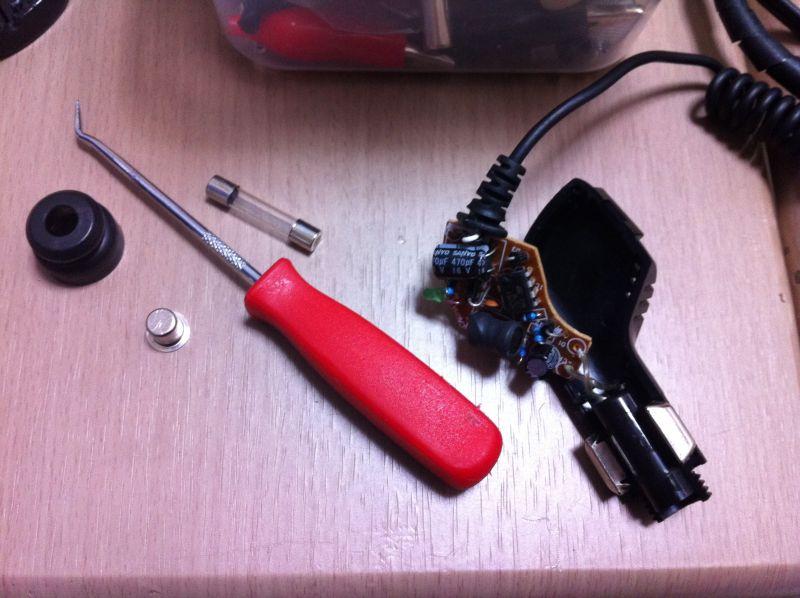 光電管タイム測定器の自作_a0038328_21402543.jpg