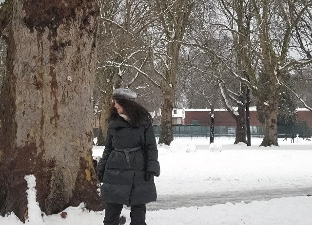 雪が降ったのでFortitudeのビデオロケに行ってきました_c0129545_3112412.jpg