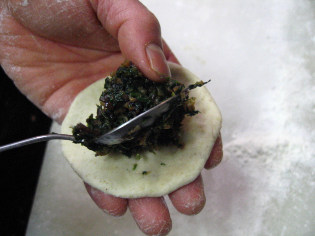 蕗の蕎麦饅頭・・・_a0160153_23222149.jpg
