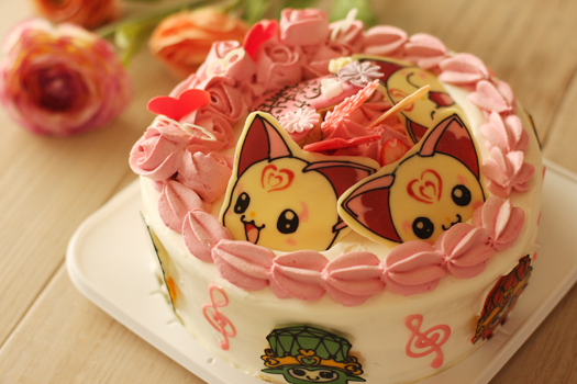 ハミィのお誕生日ケーキ_f0149855_6144455.jpg