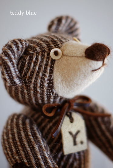 brownie teddy  ブラウニーみたいなテディ_e0253364_13185855.jpg