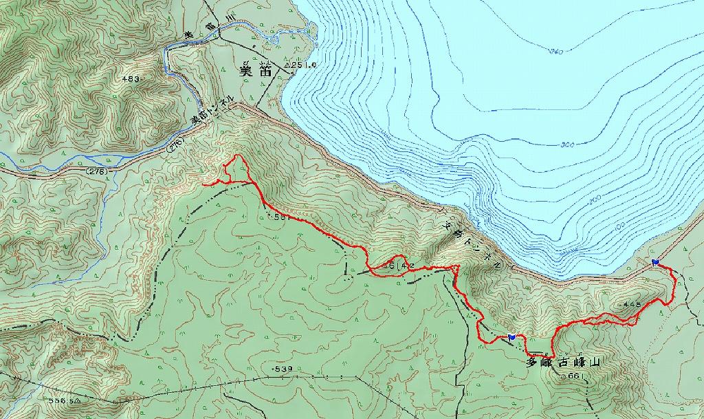 2月6日、多峰古峰山から美笛トンネルをピストン_f0138096_2256122.jpg