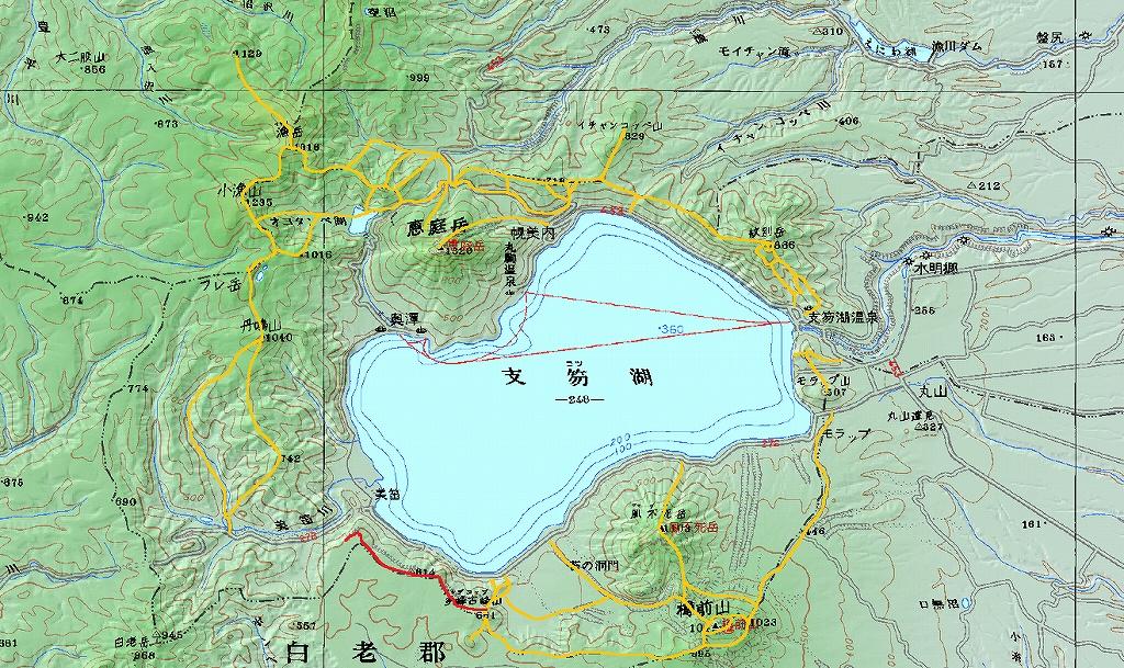 2月6日、多峰古峰山から美笛トンネルをピストン_f0138096_235875.jpg