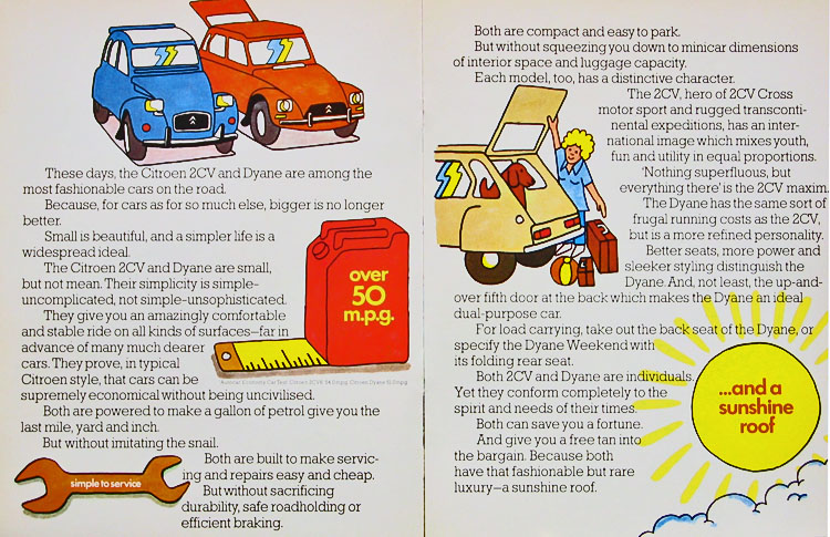◆ 2CV,Dyane.\'76.UK.カタログ_b0242510_1540164.jpg