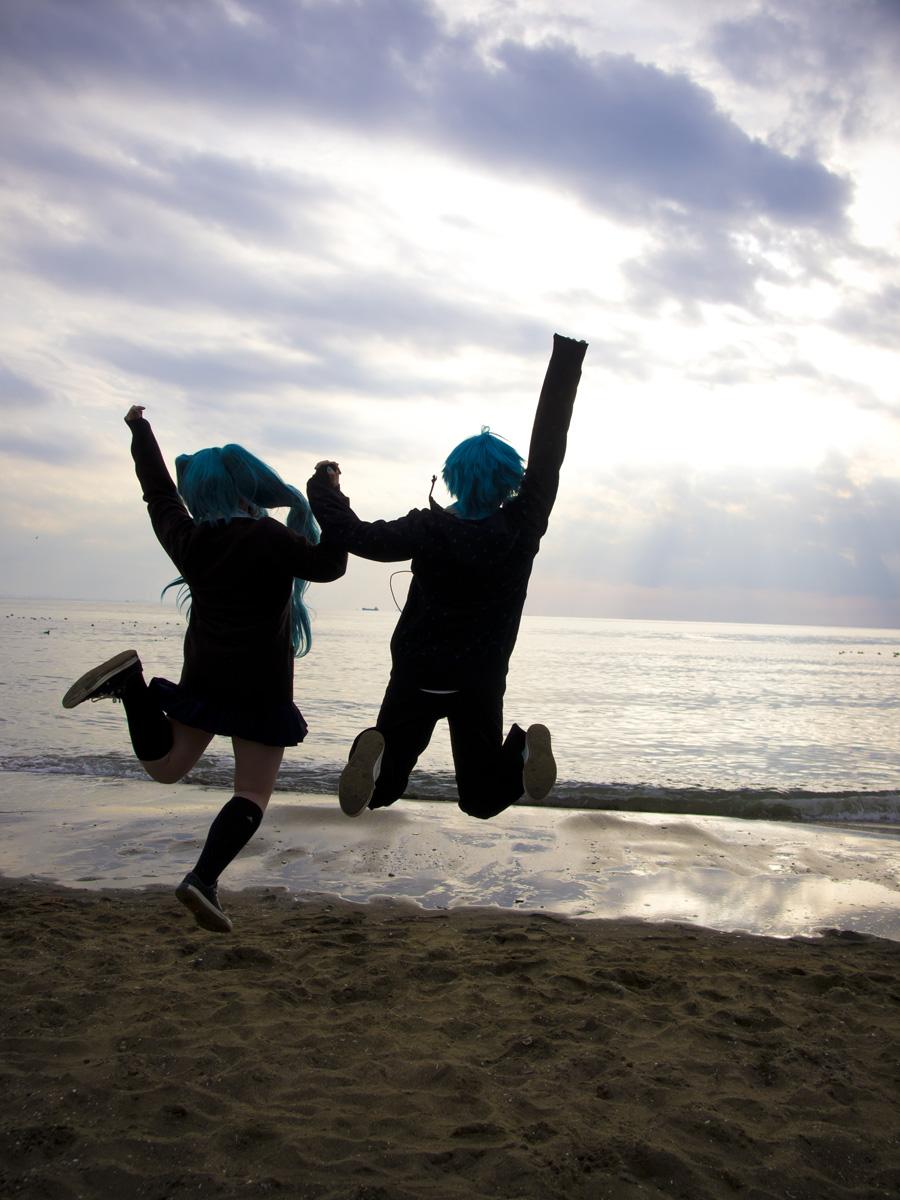 週末は、赤坂ロケと稲毛海岸にいってきました。_e0096928_9424430.jpg