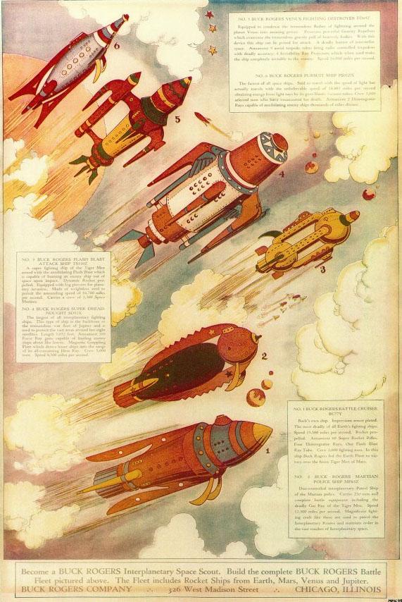 Cool Rocketsの新作がBuck Rogersで来た。_a0077842_115183.jpg