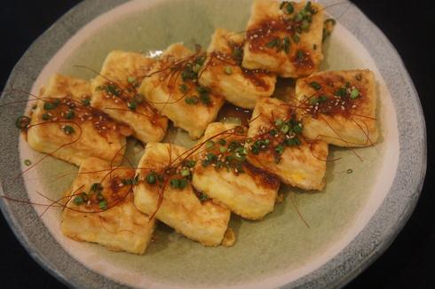 コウケンテツさん風アクアパッッツア と 韓国風お豆腐焼き_d0210450_14234897.jpg