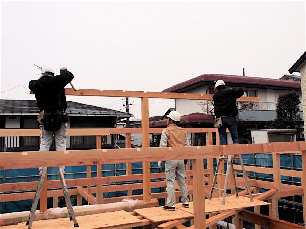 「聖蹟桜ヶ丘の家」上棟_f0230666_12525191.jpg