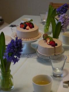 パルケ先生2月 Cake Class   生チョコデコレーションケーキ _e0159185_215351.jpg