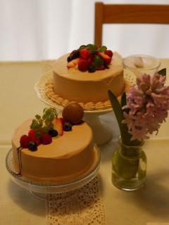 パルケ先生2月 Cake Class   生チョコデコレーションケーキ _e0159185_2161688.jpg