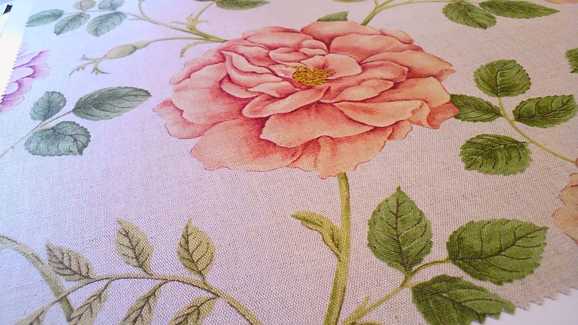 サンダーソンの花柄プリント生地。_c0157866_21135653.jpg