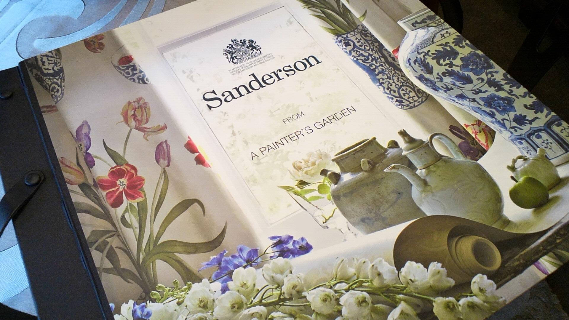 サンダーソンの花柄プリント生地。_c0157866_2117115.jpg