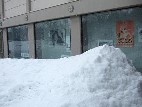 除雪された駐車場_b0226274_2037356.jpg