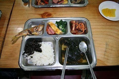 塩鯖のグリル焼き定食 ☆ ヘンな学校給食♪_c0139375_152641100.jpg