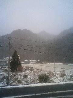昨晩から島根 雪。_d0191640_8151469.jpg