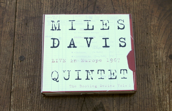 MILES DAVIS QUINTET LIVE in Europe 1967(The Bootleg Series Vol.1)_d0027243_1327511.jpg