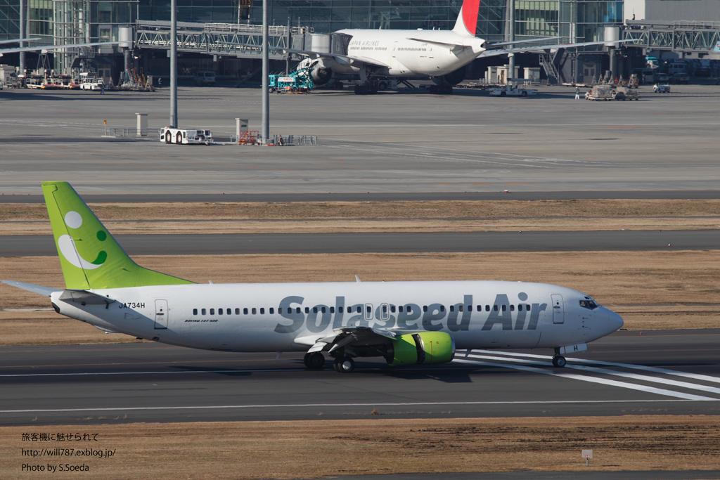2/9 羽田空港 第一ターミナル展望デッキから撮る_d0242350_1748479.jpg