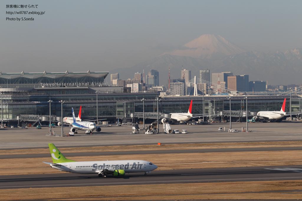 2/9 羽田空港 第一ターミナル展望デッキから撮る_d0242350_17572481.jpg