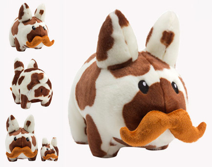 Cow \'Stache Labbit plush 14-inch by Kozik_e0118156_114164.jpg