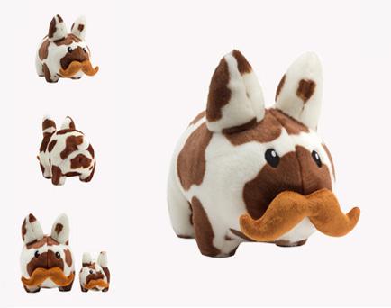 Cow \'Stache Labbit plush 7-inch by Kozik_e0118156_1154620.jpg