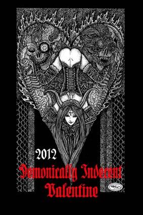 Demonically Indecent Valentine 2012 ポストカード_a0093332_12462938.jpg