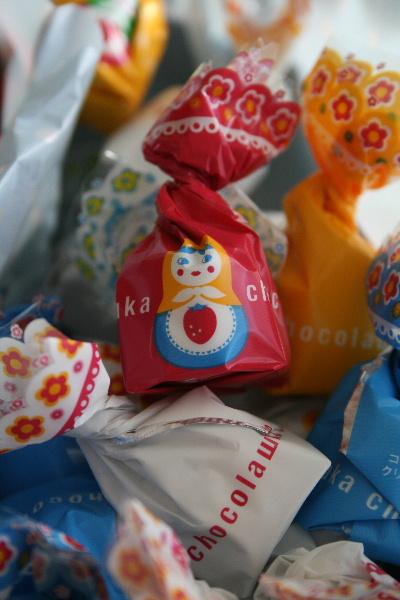 マトリョーシカのチョコレート_f0082141_1635950.jpg