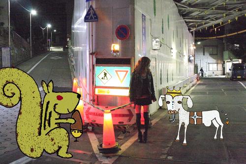 山羊と栗鼠とLADY SHIROO_d0119642_1255469.jpg