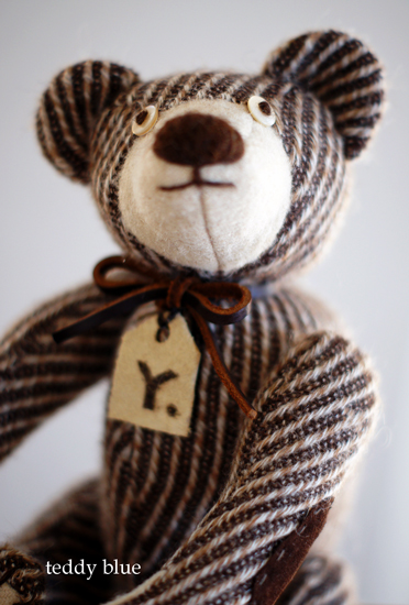 brownie teddy  ブラウニーみたいなテディ_e0253364_22295936.jpg