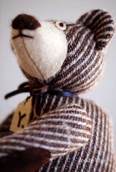brownie teddy  ブラウニーみたいなテディ_e0253364_22302639.jpg