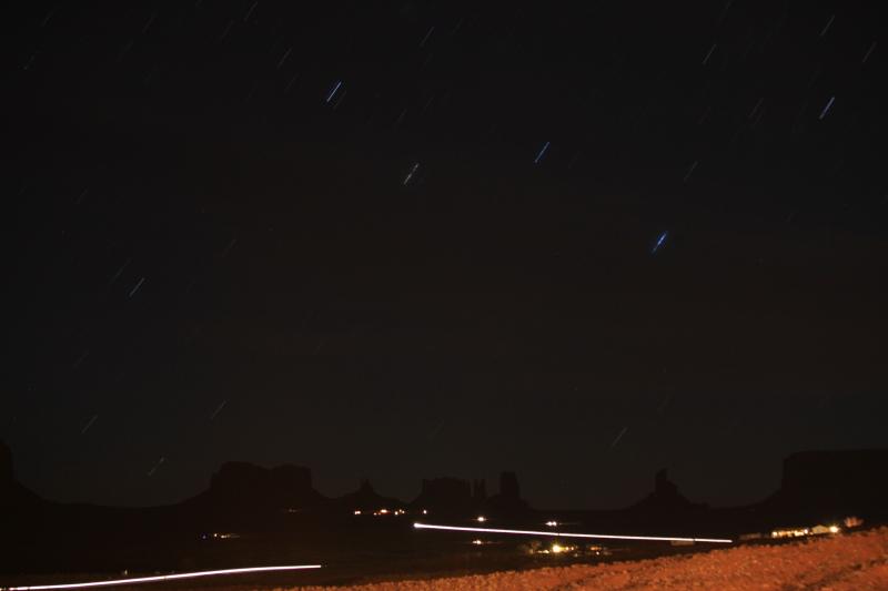 モニュメントバレーの星空_c0187779_7283338.jpg