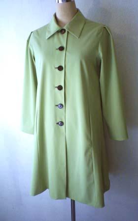 グリーンのステンカラーコート (フルオーダー)_b0199696_13305875.jpg