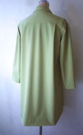 グリーンのステンカラーコート (フルオーダー)_b0199696_1331565.jpg