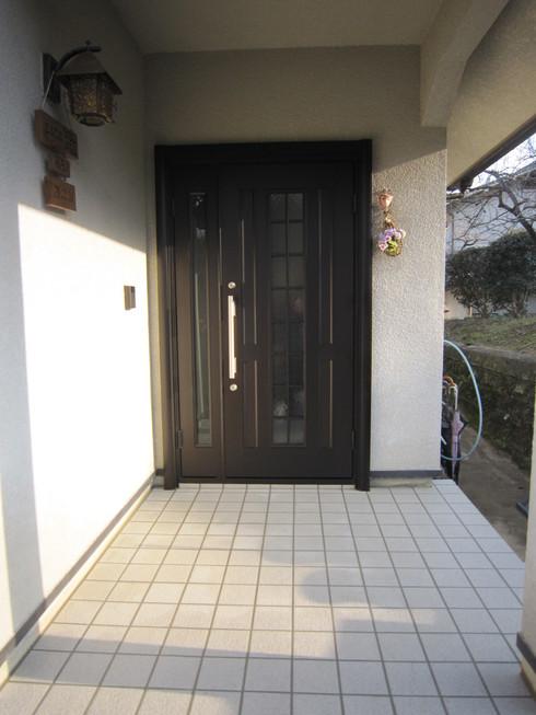 玄関廻りの改装_b0078597_20291051.jpg