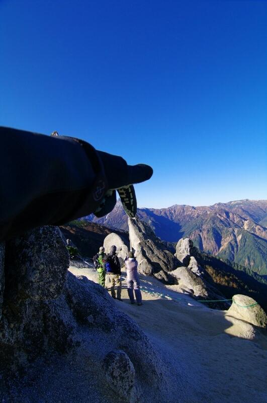 2011燕岳登山その10_a0060230_002662.jpg