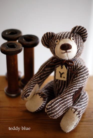 brownie teddy  ブラウニーみたいなテディ_e0253364_23523122.jpg
