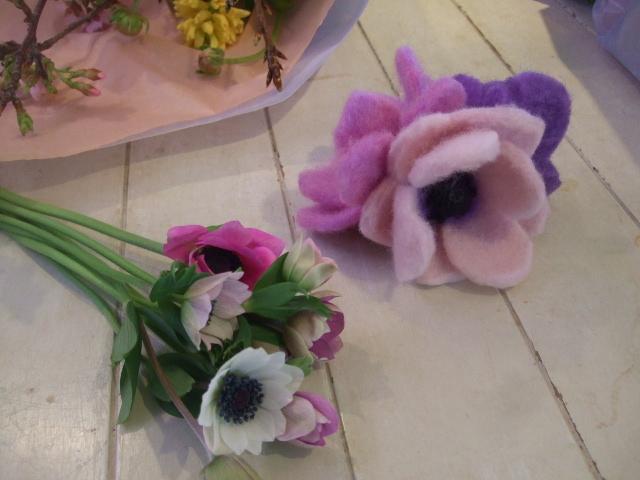 オークリーフ花の教室(それぞれの春を・・)_f0049672_1846178.jpg