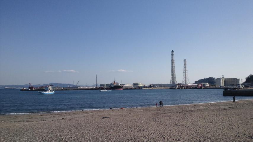 今日の久里浜海岸付近の絵_d0092901_227668.jpg