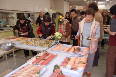 寿司&カラオケパーティー_a0154110_15115188.jpg