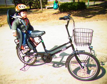 自転車の 1歳 自転車 後ろ : 子ども乗せ自転車 : キ マ マ ニ ...