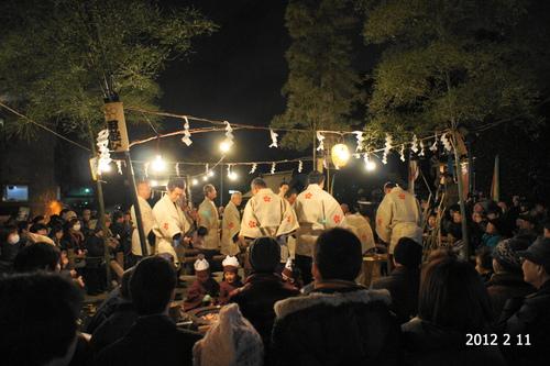 徳丸北野神社田遊び_d0004728_14414078.jpg