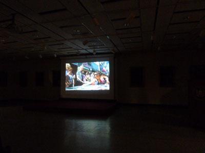驚!これが彼のアメリカ初の展覧会だとは、、、NYハーレム 松尾公子_f0009746_1365327.jpg