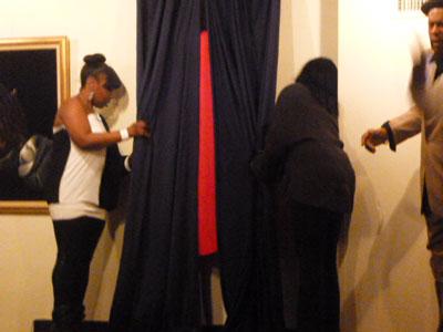 驚!これが彼のアメリカ初の展覧会だとは、、、NYハーレム 松尾公子_f0009746_1375776.jpg