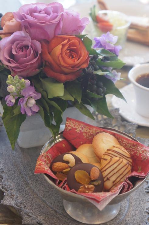 ヘーゼルのショコラと ヨックモック風クッキー_d0210450_21502533.jpg