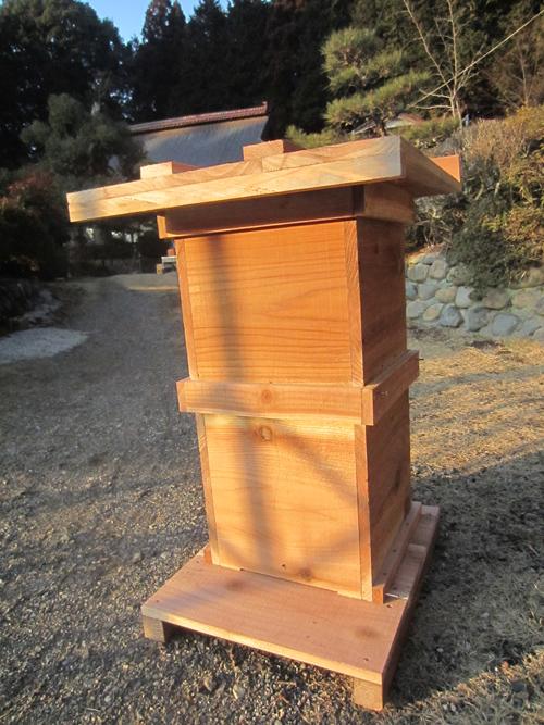 ミツバチの巣箱つくり_d0231263_21594362.jpg