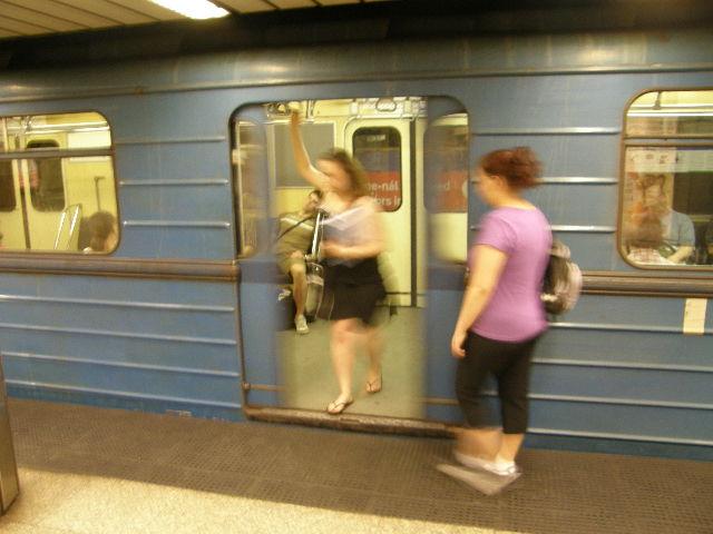 ブダペストの地下鉄_f0189467_23493179.jpg