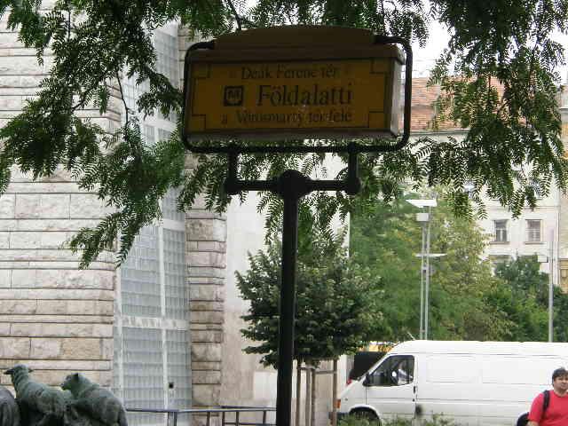ブダペストの地下鉄_f0189467_2349469.jpg