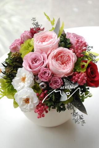 ピンク系アレンジ_a0136507_1922482.jpg
